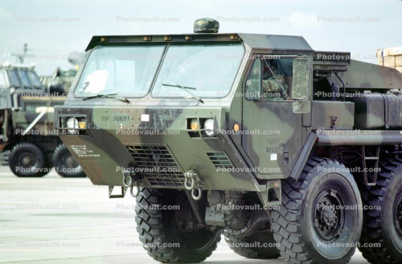 HEMT Tactical Truck, Heavy Expanded Mobility Tactical Truck, Transport, urban warfare training, Operation Kernel Blitz