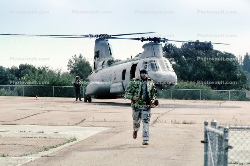 Boeing CH-46 Sea Knight, Operation Kernel Blitz, urban warfare training