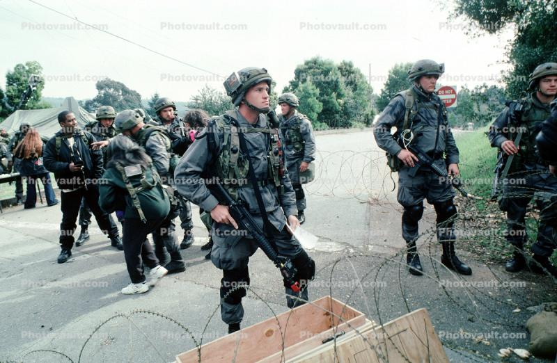 Operation Kernel Blitz, M16 Rifle, urban warfare training