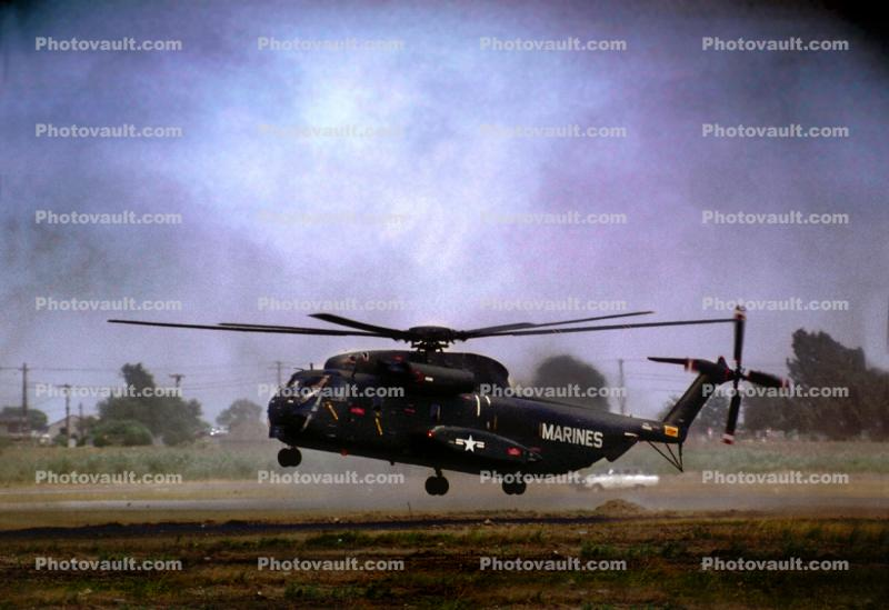 Sikorsky CH-53 Stallion, milestone of flight, flying, flight, hover, airborne