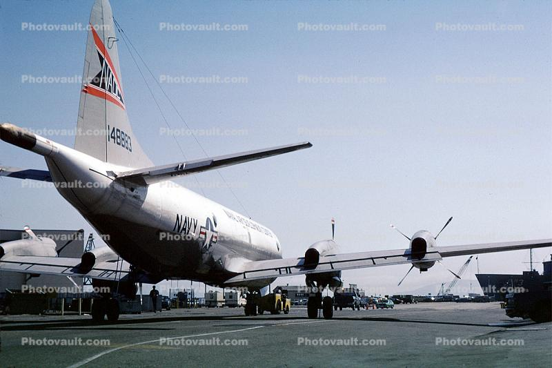 148883, NADC, Lockheed P-3A Orion, USN, Alameda Naval Air Station, NAS, NP-3D