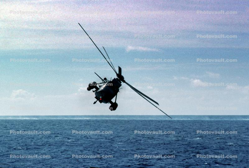 ASW patrol, Sikorsky SH-3 Sea King, Flight, Flying, Airborne