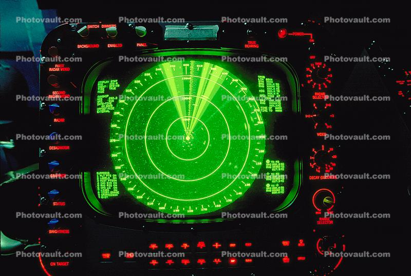 radar screen, Radar Control Room