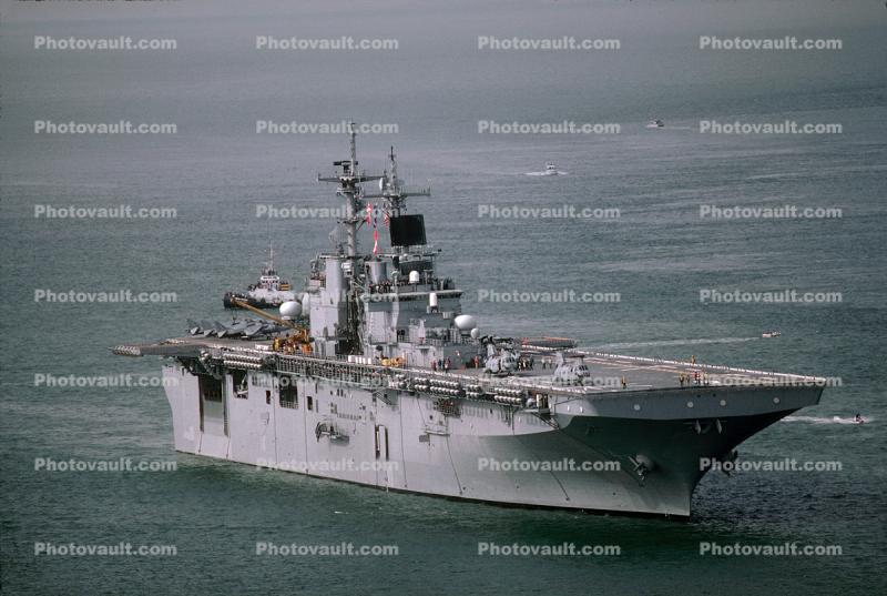 LHD-4 Boxer, Wasp Class Amphibious Assault Ship