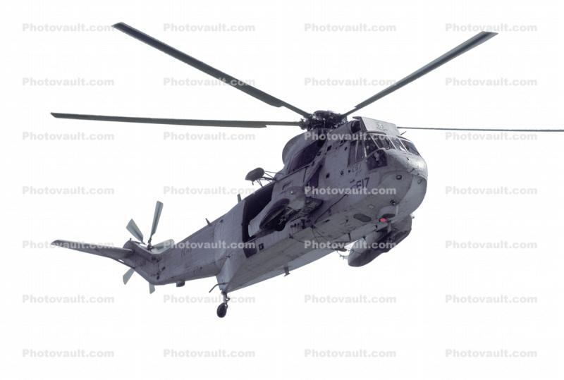 Sikorsky SH-3 Sea King, USN, United States Navy, photo-object, object, cut-out, cutout