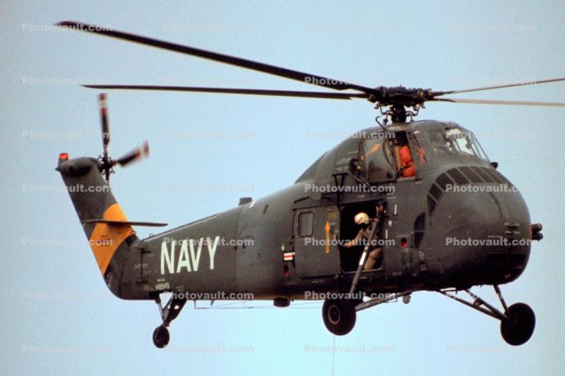 Sikorsky H-34 Choctaw, USN, United States Navy