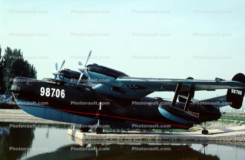 98706, Beriev Be-6, Russian maritime patrol and recon aircraft