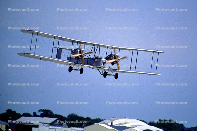 Vickers Vimy FB27, Bomber WWI, World War One, milestone of flight