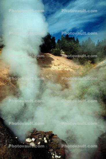 steam, Hot Spring, Geothermal Feature, activity