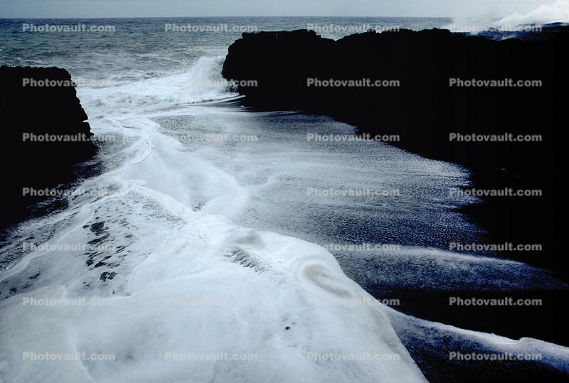 Ocean Print Ocean Poster Picture Hawaii;  Beach Sunrise; Canvas Print Big Island Black Lava Coastline Historic Pier Photo Print