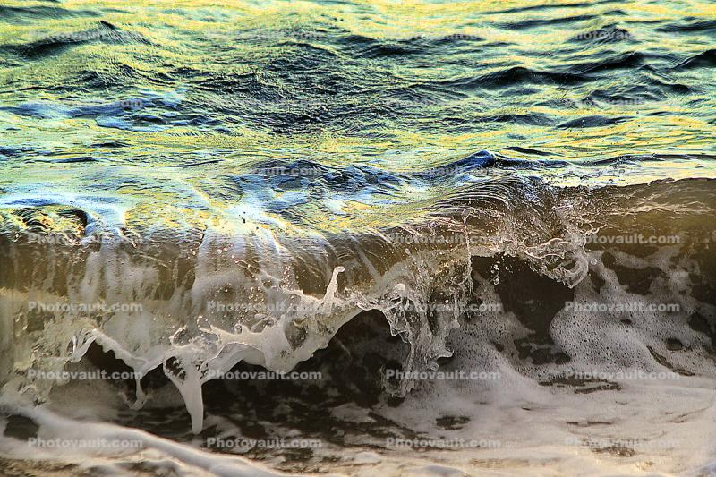 Little Wave, Beach, Wave, Sonoma County Coast, Momentary Water Sculptures, Ocean, Water, Seawater, Sea, Wet, Liquid