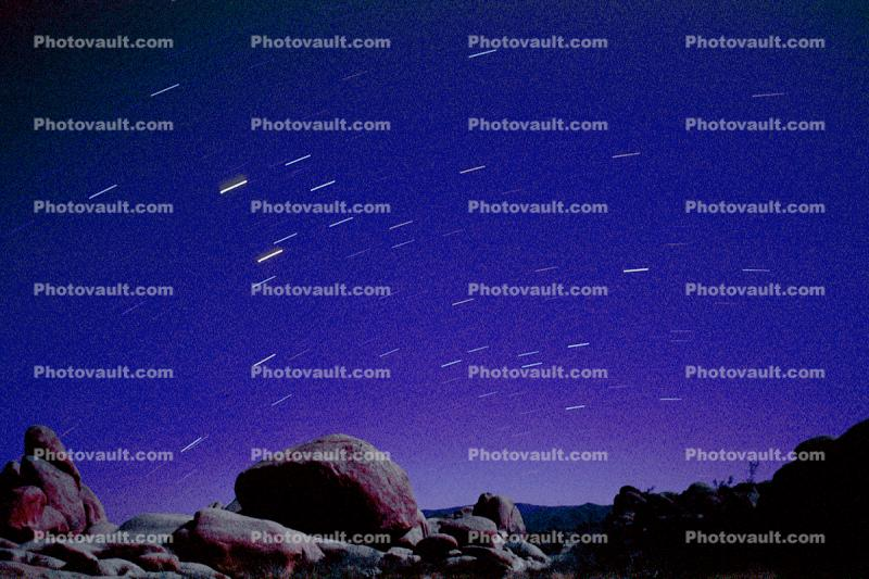 Rocks, Stone, Boulders, spinning stars, night sky