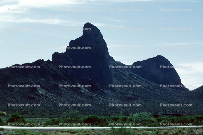 Rock Outcropping, formation, mountain, butte