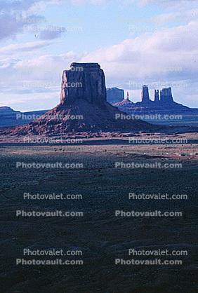 Merrick Butte, geologic feature, butte
