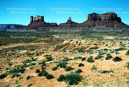 geologic feature, butte