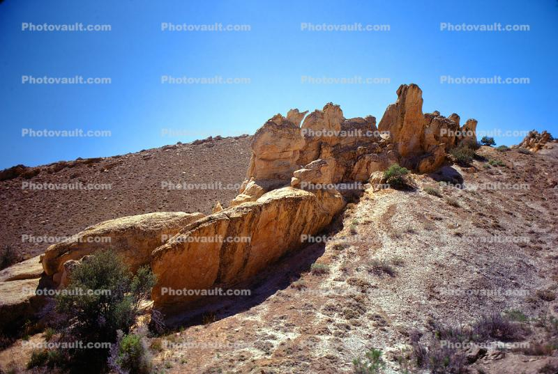 Rock Outcroppings, hill, boulders, Dinosaur National Monument