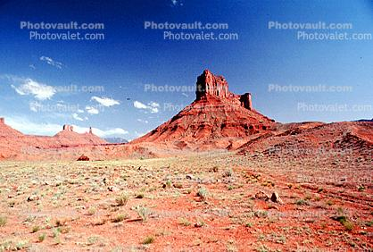 Cathedral Rock, butte, outcrop