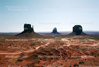 The Mittens, Monument Valley, butte