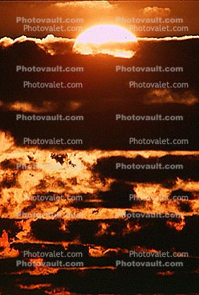 Moorea, Sunset, Sunrise, Sunclipse, Sunsight