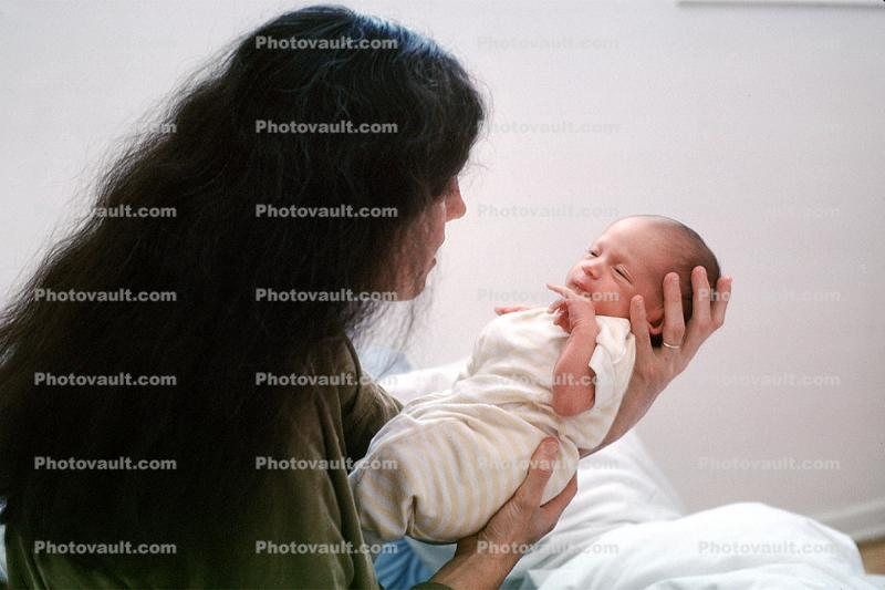 Mother and Child, newborn