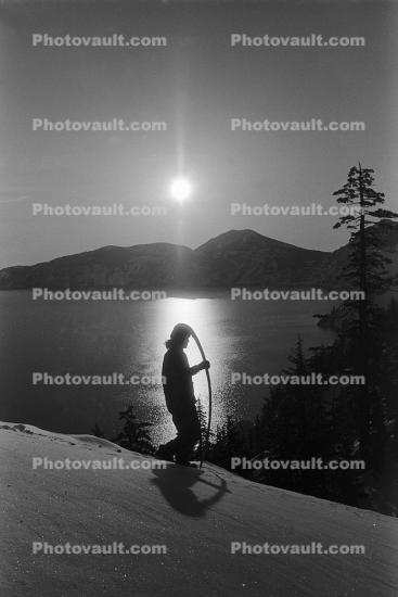 Morning Sun over Crater Lake