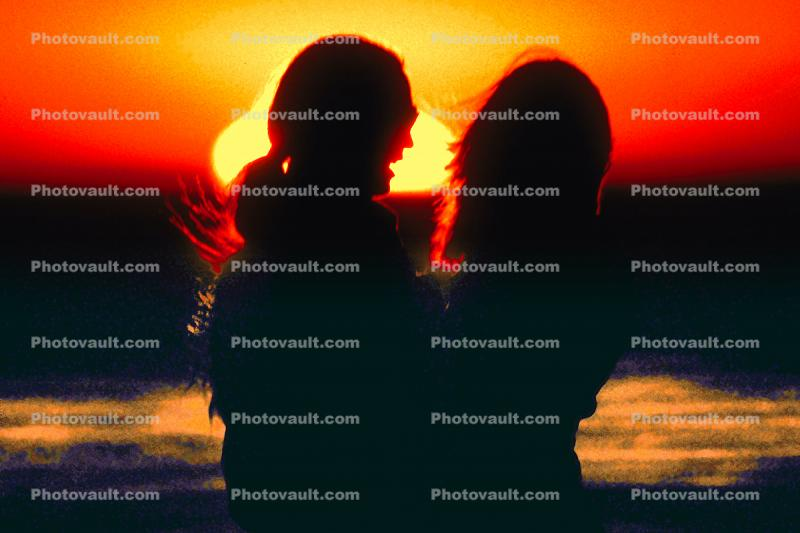 Man and Woman with the Sun