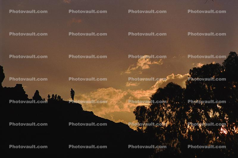 South Africa, Sunset, Person, Repose