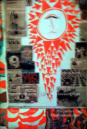 The Bewildered Sun, Boys bedroom, 1960s, San Diego, California, Loma Portal, My Room, Posters, psyscape