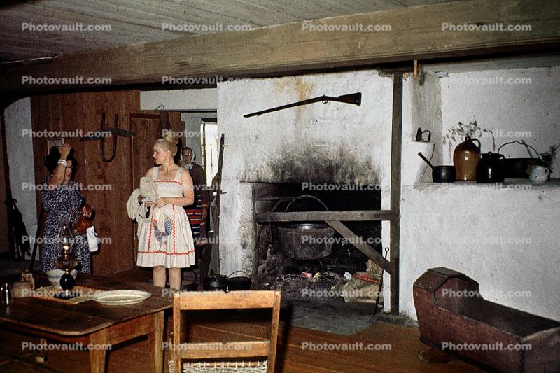 Fireplace, Rifle, June 1964