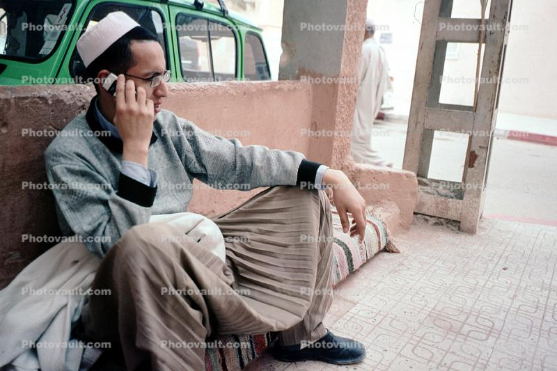 Man, Male, Cell Phone, Iran