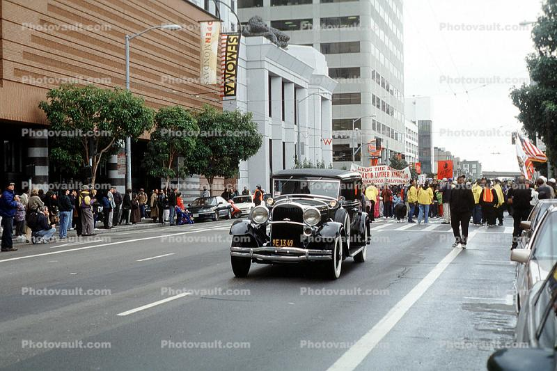 Martin Luther King Parade, Third Street, Car, automobile, vehicle, MLK