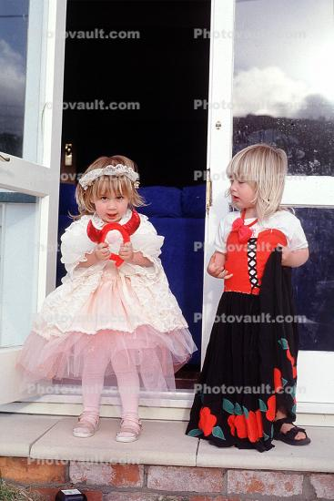Girls, Tutu, twins, Wellington, New Zealand