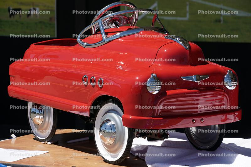 Red Pedal Car, Peggy Sue Car Show & Cruise event, June 7 2019
