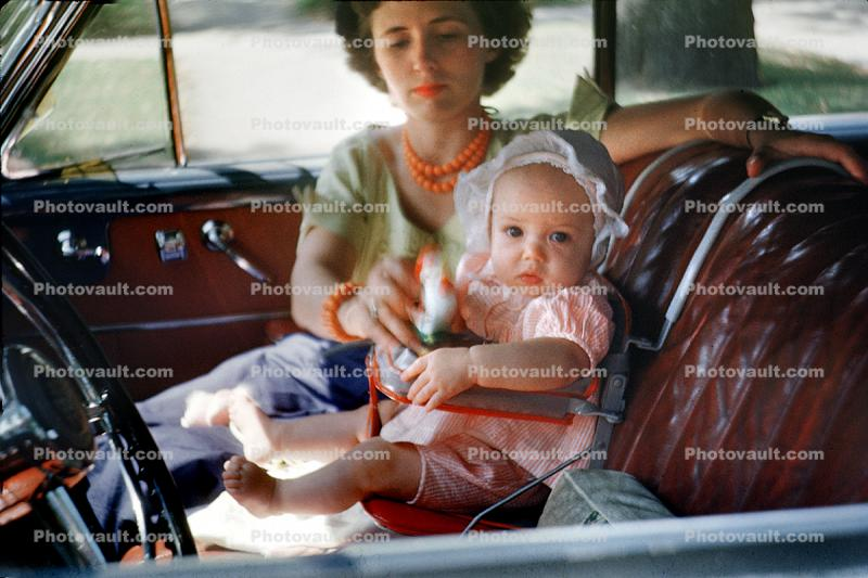 Baby Girl, Leather Seats, car, bonnet, 1940s