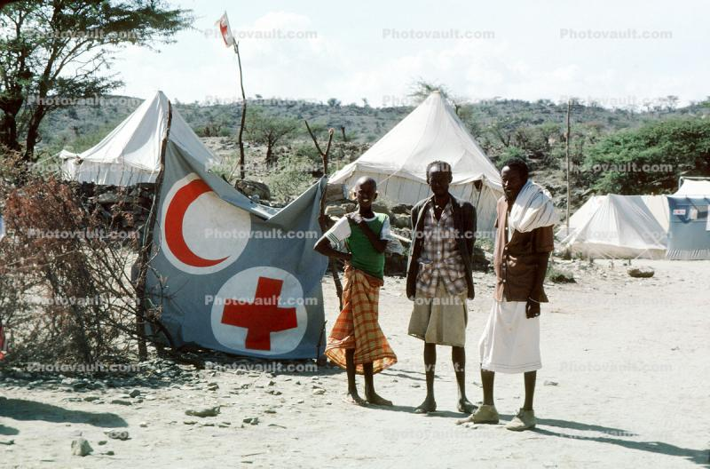 Refugee Camp, near the Ethiopia Somalia border, African Diaspora, Somalia