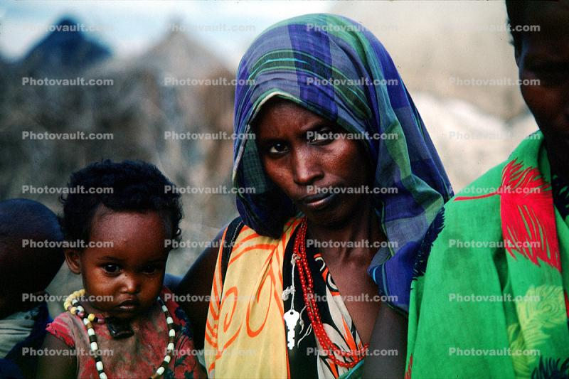 Refugee Camp, near the Kenya Somalia border, African Diaspora in Somalia