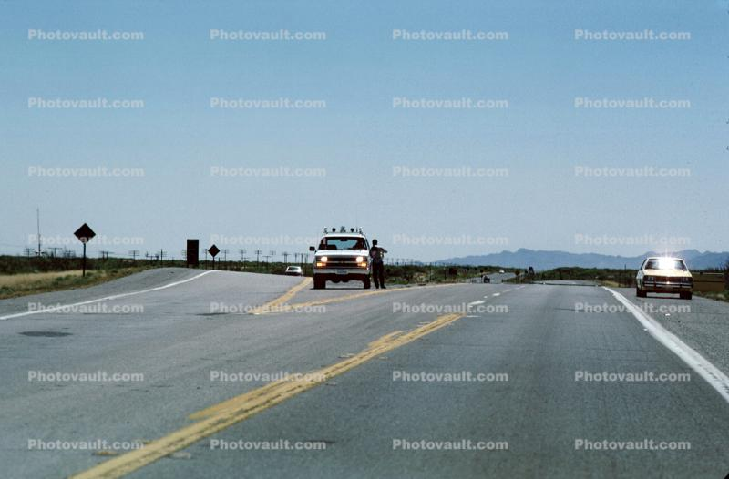 border patrol, US Highway-70