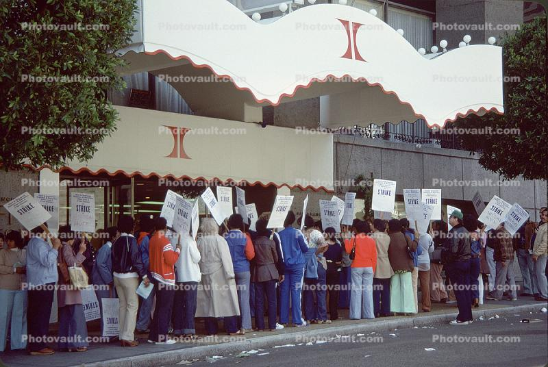 Hotel Workers Strike