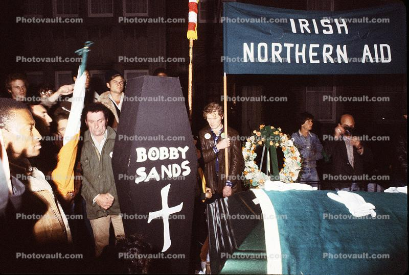 Bobby Sands IRA protest