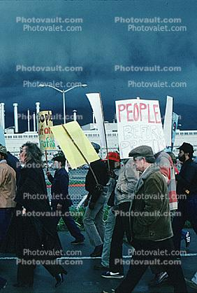 Patco Strike, Milpitas, Ford Motor Plant, 1980's