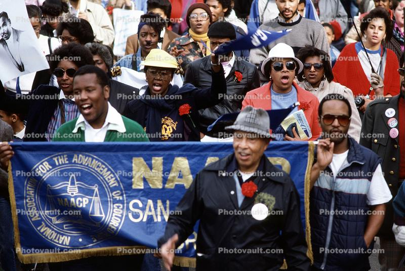 MLK, Martin Luther King Jr. Day Parade, June 20 1986, 1980's