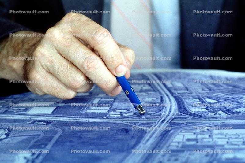 blue print, Architectural Renderings, Drawings, Paper, Map, hand, pointing
