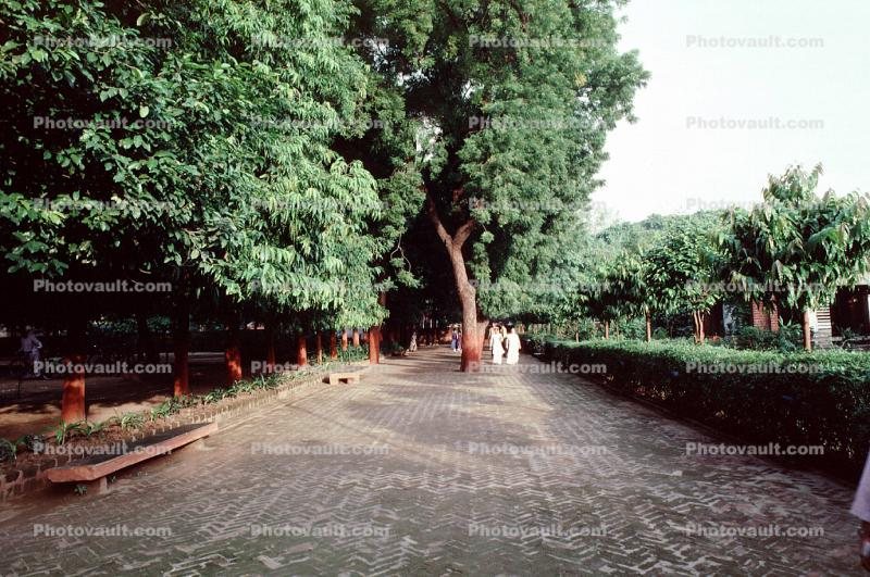 "Hridaya Kunj, ""abode of the heart"", Mohandas Karamchand Gandhi, Ahmedabad, Gujarat, October 2 1988"