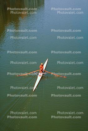 Sculling, Single Scull, Rowing Needle