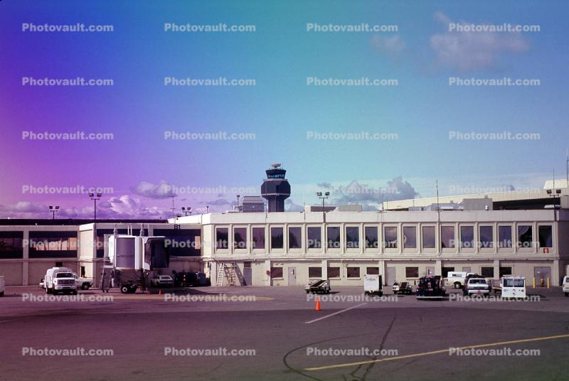 Terminal, Anchorage International Airport, Anchorage Alaska, (ANC), Control Tower