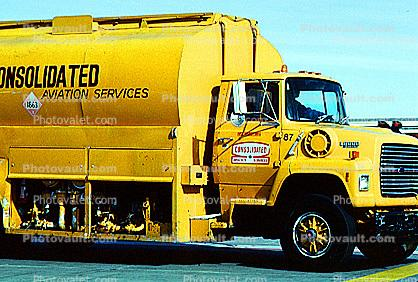 Consolidated Aviation Services, Truck, Ground Equipment, tanker