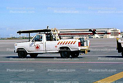 Air Canada, Pick-up Truck, Ground Equipment