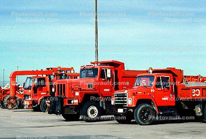 Dump Truck, Ground Equipment, diesel