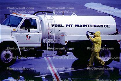 Fuel Pit Maintenance, San Francisco International Airport (SFO), Ground Equipment
