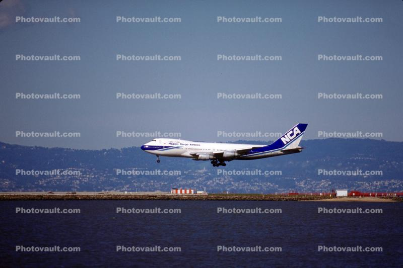 NCA, Boeing 747, Nippon Cargo Airlines, (SFO)